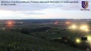 Alle 10 Minuten ein Foto auf den Weitblick, Pinkatal und Ungarn